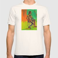 Male Nude Mens Fitted Tee Natural SMALL