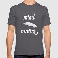 mind > matter Mens Fitted Tee Asphalt SMALL
