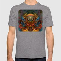 Fire_Fairy Mens Fitted Tee Tri-Grey SMALL