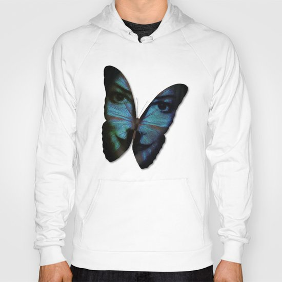 AM I A BUTTERFLY DREAMING I AM AN HUMAN Hoody