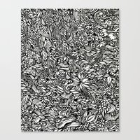 Katamari Canvas Print