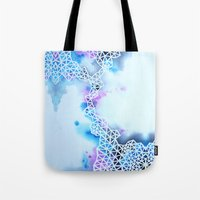 In Between Somewhere And… Tote Bag
