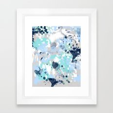 Silva - Abstract Paintin… Framed Art Print