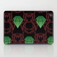 Emeralds & Demons [BLACK… iPad Case