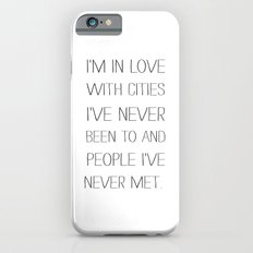 I'm in love with cities. Slim Case iPhone 6s