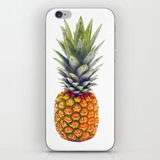 Isolated pineapple iPhone & iPod Skin