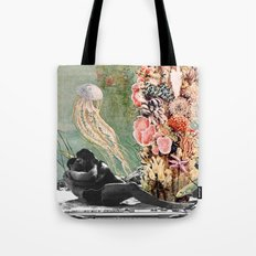 First Kiss Underwater Tote Bag