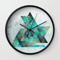 Gheo 3 Wall Clock