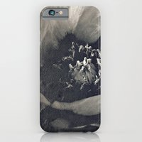iPhone Cases featuring canvas peony by inourgardentoo