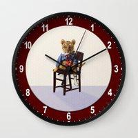 Tiny Tiger Valentine Wall Clock