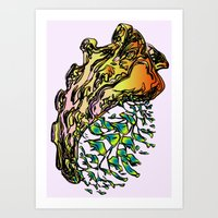 Clavibone Art Print