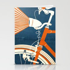Bicycle Light Stationery Cards