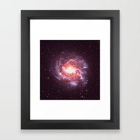 Star Attraction Framed Art Print