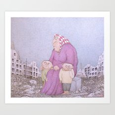 Our Lady of Aleppo Art Print