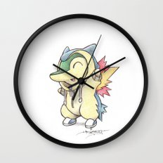 All Fired Up! Wall Clock