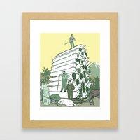 Pot Pioneers Framed Art Print