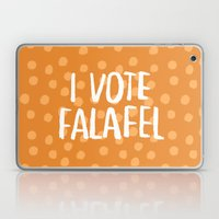 I Vote Falafel Laptop & iPad Skin