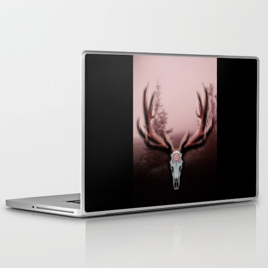 C-2 Horns Laptop & iPad Skin