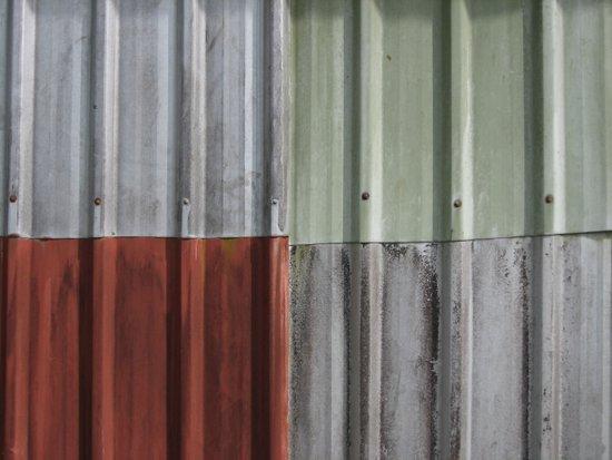 Corrugated Iron Art Print