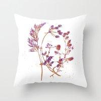 Botanical 1 Throw Pillow