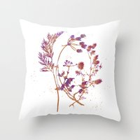 Botanical 1 Throw Pillow