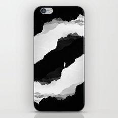 Black Isolation iPhone & iPod Skin