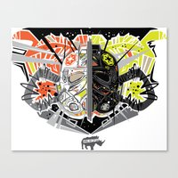 Nalubuff - the Fighters Canvas Print
