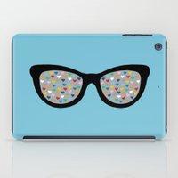 Heart Eyes iPad Case