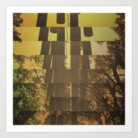 CENTER OF THE FOREST Art Print