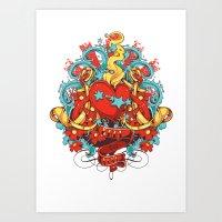 Free to love Art Print