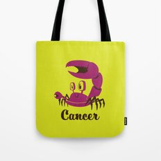 Cancer: the Crab Tote Bag