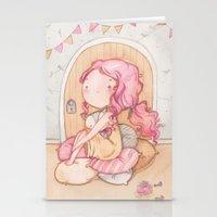 Hobbit Girl Stationery Cards