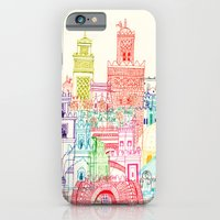iPhone & iPod Case featuring Marrakech Towers  by cheism