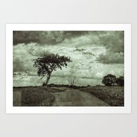 The Lonely Road Art Print