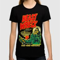 T-shirt featuring BEASTWRECK ATTACKS! by BeastWreck