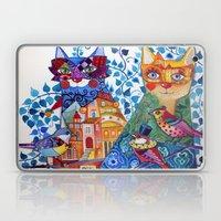Venice Cats Laptop & iPad Skin