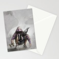 The Crow of Zagreb Stationery Cards