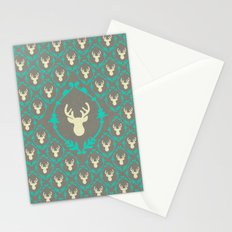 Oh Deer (white) Stationery Cards