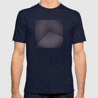 AbSTRACT 6 Mens Fitted Tee Navy SMALL