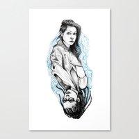 sarah and cosima Canvas Print