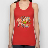 Street Fighter Unisex Tank Top