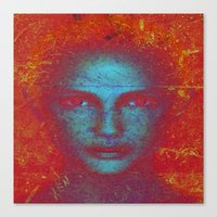 VISAGES Canvas Print