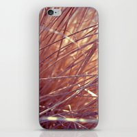 autumn straw iPhone & iPod Skin