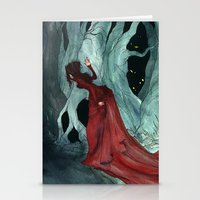 Snow White Lost In The W… Stationery Cards