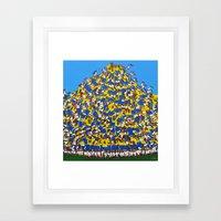 Gol do Brasil Framed Art Print