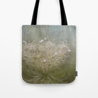 Queen Anne's Lace Botanical Series 5-9 #5 Tote Bag