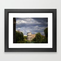 The Roman Colosseum  Framed Art Print