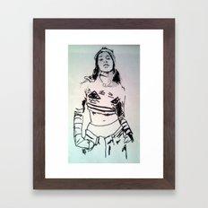 Azelia Framed Art Print