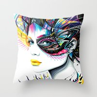 -In my Mind- Throw Pillow