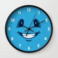 Happy Happy Wall Clock